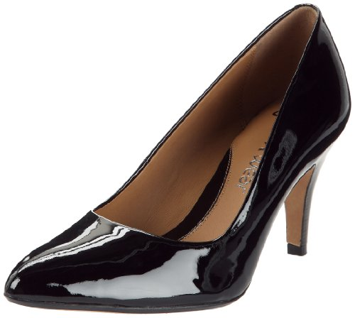 Clarks Cedar Chest Peep-Toe Womens - Black (6.5 UK)