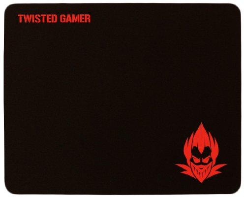 Twisted Gamer – Insidious MMO / FPS Gaming Mouse Pad, Soft Cloth with Rubber Grip.