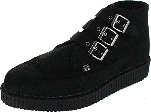 T.U.K. A8996, Stivali uomo nero Black, nero (Black), 46 EU