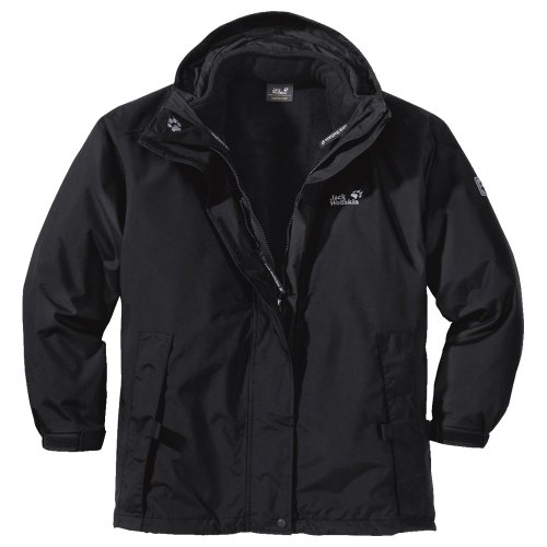Jack Wolfskin Doppeljacke Iceland Women black (Gr&#246;&#223;e: S)