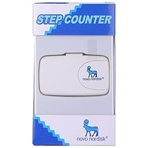 Novo Nordisk Novo Nordisk Digital LCD Pedometer Run Step Walking Distance Counter