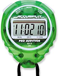 Accusplit Pro Survivor Stopwatch Lime