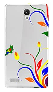 WOW Transparent Printed Back Cover Case For Xiaomi Redmi Note 4