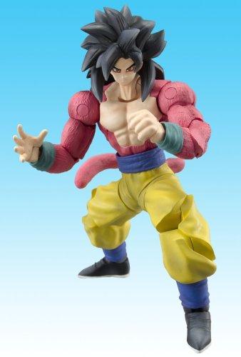Dragonball Z BanDai 4 Inch Hybrid Action Figure Super Saiyan 4 [SS4] Son Gokou