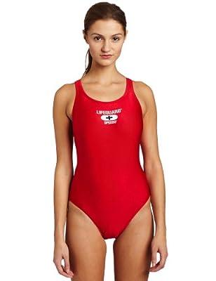 Speedo Womens Xtra Life Lycra Lifeguard Superpro Swimsuit