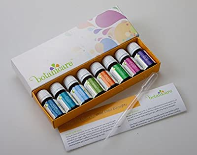 Top Blends Aromatherapy Essential Oils Kit - 8 10ml bottles. Great for DIY projects like Lotion, Soap, Bath Bombs, or Bath Salts. Also for an Aromatherapy Diffuser. Perfect Gift Set. Includes dropper!