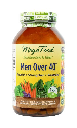 Megafood Men Over 40 Tablets, 180 Count (Ffp)