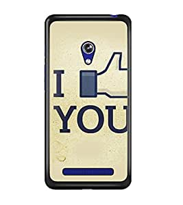 PrintDhaba Quote D-3411 Back Case Cover for ASUS ZENFONE 5 A501CG (Multi-Coloured)