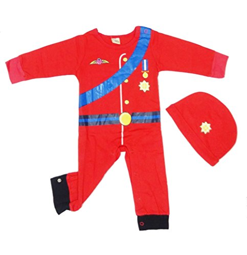 Bskids Kids Costume Red Army Soldiers Cotton Rompers