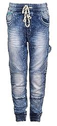 Vitamins Boys' Jeans (22B-692-42-Dx Cloud Wash_Dark Blue_15 - 16 Years)