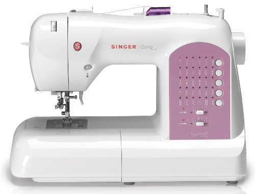 SINGER 8763 Curvy Computerized Free-Arm Sewing Machine (Singer Sewing Embroidery Machine compare prices)