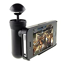 SMILEDRIVE BUBBLESCOPE: THE MOST INNOVATIVE PRODUCT OF THE YEAR: ONE CLICK SHOOT 360 DEGREES PICS VIDEOS ON YOUR IPHONE -