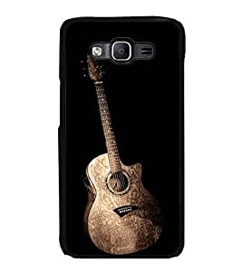 Guitar 2D Hard Polycarbonate Designer Back Case Cover for Samsung Galaxy On7 G600FY :: Samsung Galaxy On 7 (2015)