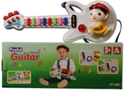 Prasid Mini Guitar (Multicolor)