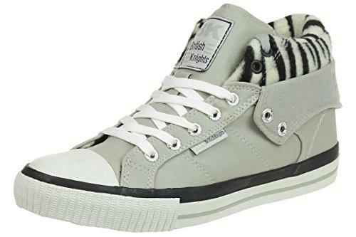 British Knights ROCO BK Damen Sneaker B32-3731-04 grau, Schuhgröße:EUR 42