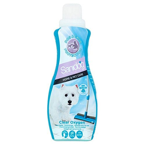 Sanidog Clear Oxygen Floor Cleaner 1L (PACK OF 4) (Fish Trap X4 compare prices)