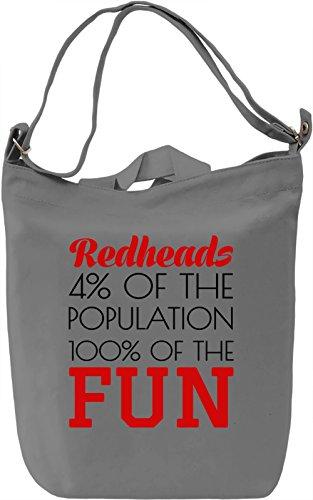 redheads-4-of-the-population-100-of-the-fun-borsa-giornaliera-canvas-canvas-day-bag-100-premium-cott