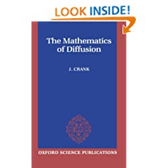 The Mathematics of Diffusion (Oxford Science Publications)