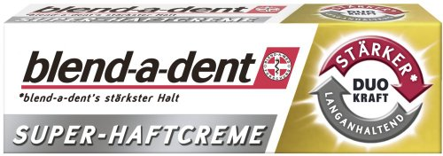 Blend-a-dent Super-Haftcreme Duo KRAFT, 6er Pack (6 x 40 g)