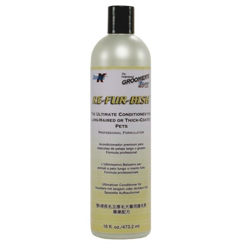Groomers Edge Re-Fur-Bish Conditioner 16Oz