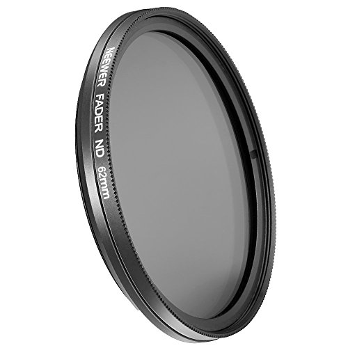 NEEWER® 62mm ND Fader Neutral Density Adjustable Variable Filter (ND2 to ND400) (Nd Filter 62mm compare prices)