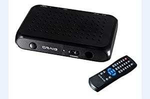 Craig Digital to Analog Broadcast Converter with Remote