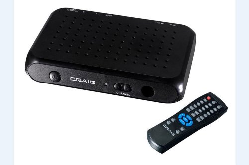 Craig Electronics Cvd508 Digital To Analog Broadcast Converter With Remote Control