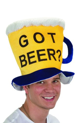 Jacobson Hat Company Men's Velvet Got Beer Mug Hat, Yellow, One Size (Beer Company Hat compare prices)
