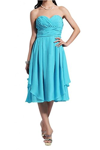 *Maillsa Chiffon Sweetheart Bridesmaid Dress Party Dress Short Dress Pp453