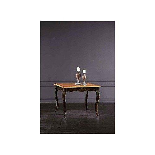 Table console bois laqué peinte à la main bois massif-comme photos