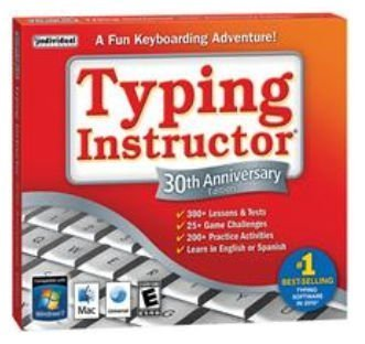 TYPING INSTRUCTOR 30TH ANIVERSARYSP/EN (WIN XPVISTAWIN 7/MAC 10.4 OR LATER) (Typing Instructor Mac compare prices)