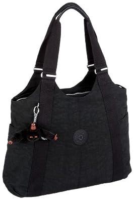 Kipling Women's Cicely Shoulder Bag Black (Black) K13338
