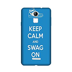 Aaranis designed Coolpad Note 3/ Coolpad Note 3 Plus Mobile Backcover with perfect Matte Finishing Motivational Quote typography(blue)