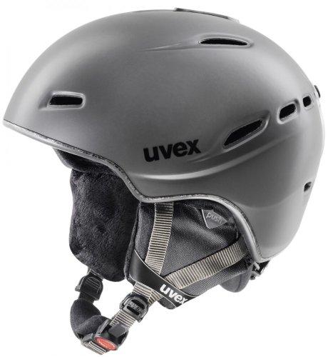 UVEX Helm Hypersonic, Darksilver Mat, 52-54 (S) cm, S56.6.144.5203
