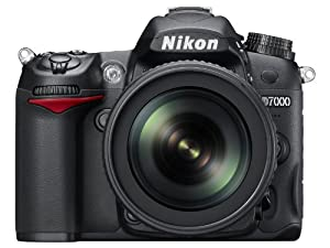 Nikon D7000 16.2 Megapixel Digital SLR Camera with 18-105mm  Lens