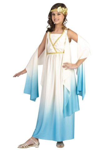 Child Greek Goddess Costume: Roman Girl's Halloween Costume