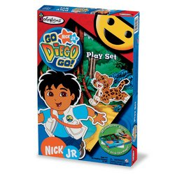 Colorforms: Go Diego Go! Playset