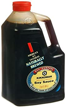 Kikkoman Soy Sauce 64-Ounce Bottle