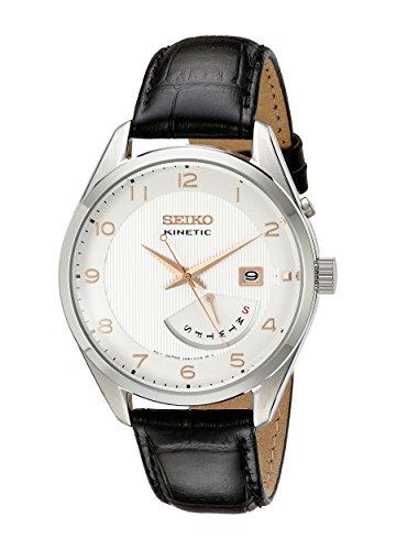 Seiko Men SRN049 Analog Display Japanese Quartz Kinetic Watch