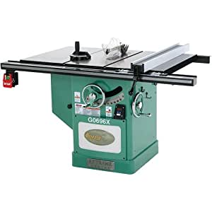 Grizzly g0696x 5 hp extreme series left tilt table saw 12 for 12 inch table saw