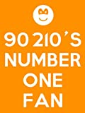 90210 - 90210's Number One Fan Keyring - 5cm x 3.5cm