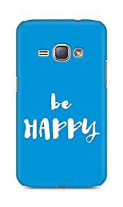 AMEZ be happy Back Cover For Samsung Galaxy J1 (2016 EDITION)