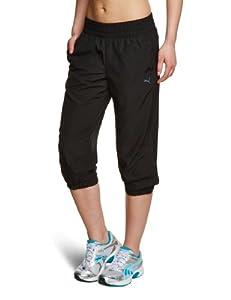 PUMA Damen Hose ESS Woven 3/4 Pants, Black, M, 823886 01