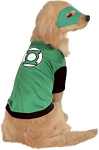 Rubies Costume DC Heroes and Villains Collection Pet Costume-Green Lantern from Amazon.com, LLC *** KEEP PORules ACTIVE ***