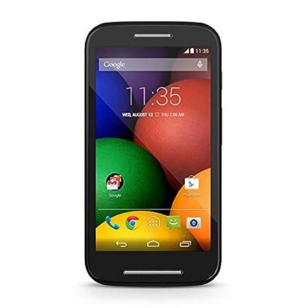 Motorola Moto E Smartphone débloqué 3G (Ecran: 4.3 pouces - 4 Go - Android 4.4 KitKat) Noir (Import Allemagne)