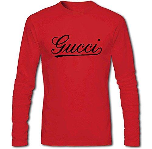 Gucci Store Mens Printed Long Sleeve Tee Tshirt