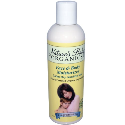 Nature'S Baby Organics - Face & Body Moisturizer Fragrance Free - 8 Oz.