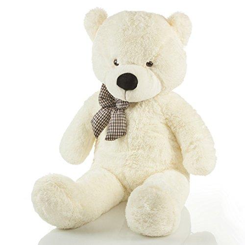 riesen-teddybar-xxl-kuschelbar-120-cm-gross-pluschbar-original-feluna-teddy-bar-mit-schleife-weiss