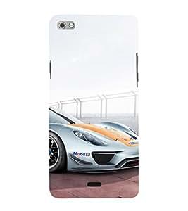 EPICCASE Sports car Mobile Back Case Cover For Micromax Sliver 5 Q450 (Designer Case)