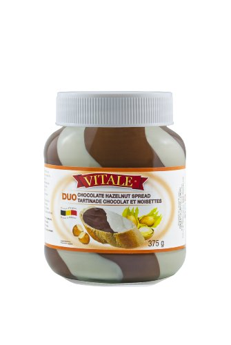 Vitale Duo Spread, Chocolate and Vanilla, 375gm